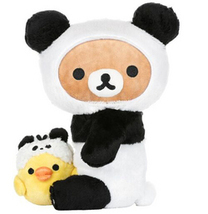 Rilakkuma Panda with Kiiroitor  by Aliquantum - $33.75