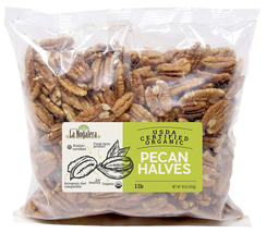La Nogalera Pecans - Fresh Crop Of Usda And Ccof Certified Organic Pecan... - $26.33