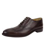 LIBERTYZENO Men's Wingtip Brogue Dress Shoes Leather Lace Up Business S... - $54.99