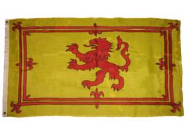 3x5 Scotland Rampant Lion Royal Banner Flag Scottish Banner Indoor Outdoor 100D - $7.94