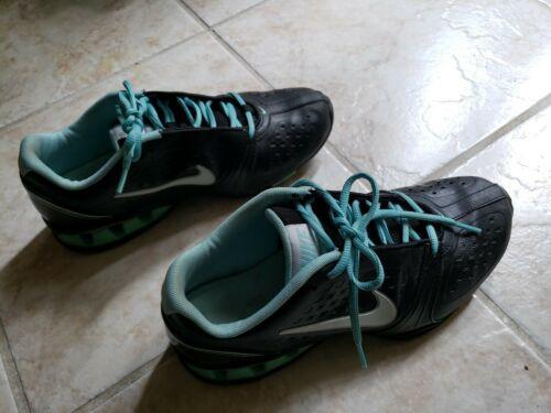 Nike Womens sz 9.5 Black Tennis Shoe Reax Running Black Sneaker