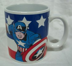 "Marvel Comics CAPTAIN AMERICA 3"" CERAMIC MUG The Avengers NEW - $14.85"