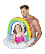 BigMouth Inc Happy Rainbow Lil' Water Float With Glitter Inside, For Age... - $19.79