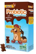 YUM-V's Probiotic for Kids, Milk Chocolate Flavor (40 Ct); Children's Daily Diet - $14.65