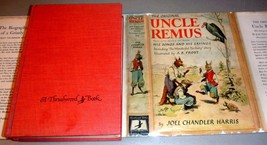 Uncle Remus His Songs & Sayings - HC/DJ/Illus. Joel Chandler Harris - $34.75