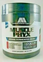 American Metabolix MUSCLEPHYX Muscle Phyx Vegan Fermented BCAA, 30 Servi... - $19.31