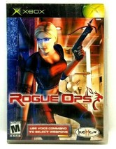 Xbox Rogue Ops 2003 Video Game Complete M Mature (M1) - $10.69