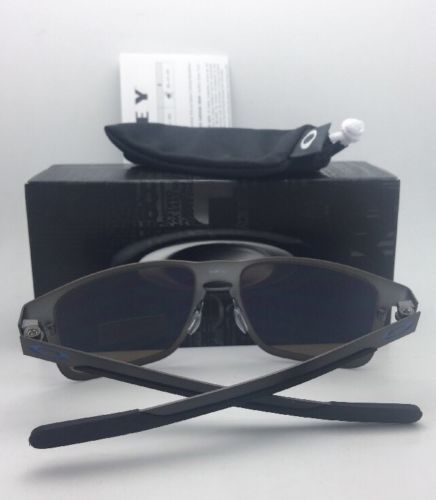 bcb95d7e7e Polarized OAKLEY Sunglasses HOLBROOK METAL OO4123-07 Gunmetal w  PRIZM  Sapphire