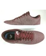 Nike Mens SB Check Solar Canvas Premium Shoes Dark Team Red White Size 1... - $54.44