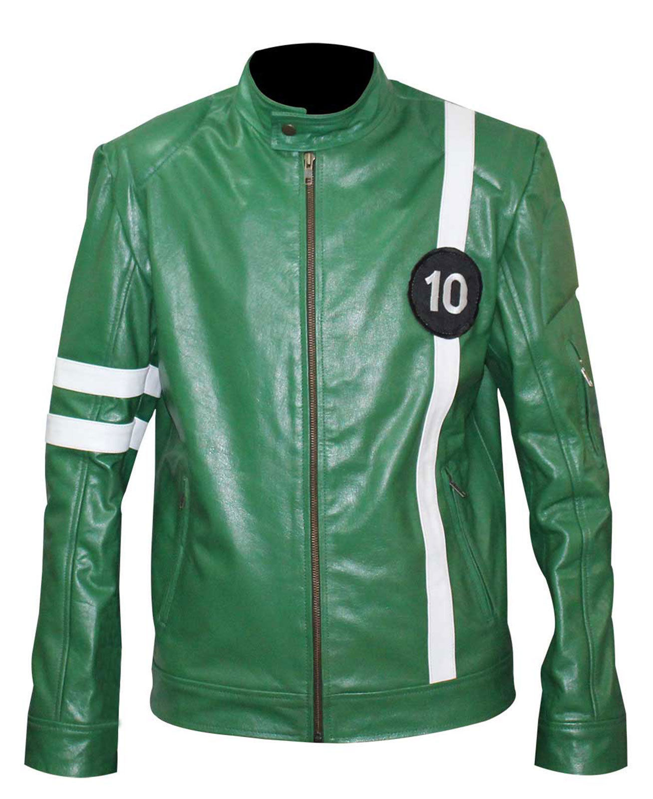 Primary image for Ben 10 Tennyson Alien Swarm Ryan Kelley Green Leather Jacket