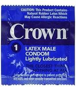 Okamoto Crown Lightly Lubricated Skin Thin Sensitive Bulk Condoms 144 Packs - $20.79