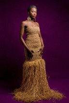 Jebale Raphia Wedding Gown (ESSINGAN) - $228.00