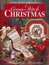 """Hard Covered Book- """"A Cross-Stitch Christmas"""" -Better Homes & Garden-Gen... - $18.00"""