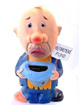 HOBO COIN BANK CERAMIC JAPAN RETIREMENT FUND - $14.80