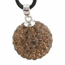 Pendant sterling silver with swarovski crystals zd1025 new new - $8.30