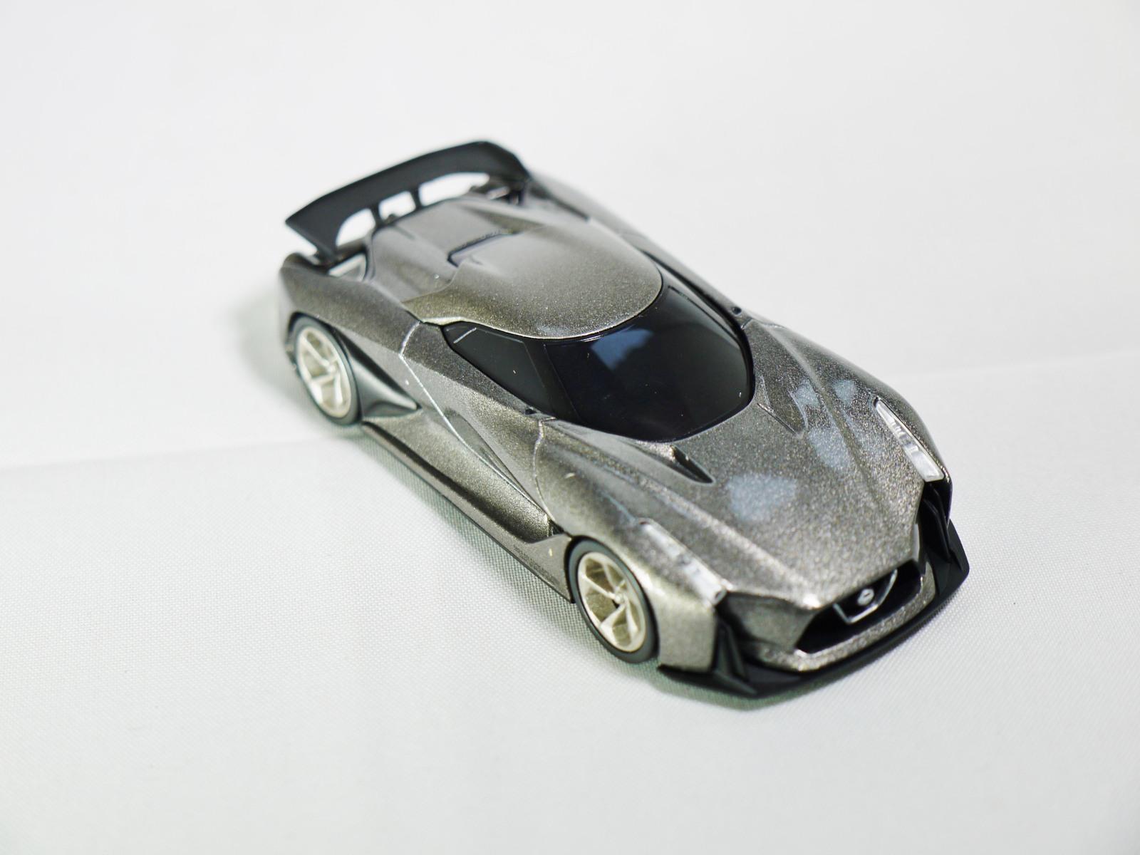 Tomytec tomica limited vintage neo   gt nissan concept 2020   vision gran turismo   grey   04