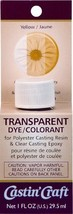 Environmental Technology 1-Ounce Casting' Craft Transparent Dye, Yellow - $9.29