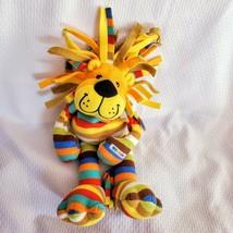 "Beeposh Melissa & Doug Striped Rainbow Tiger Lion Plush Stuffed Animal 17"" - $29.69"