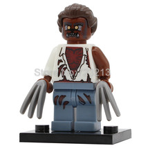 Single Sale Werewolf Halloween Movie Series Minifigure Blocks for LEGO B... - $8.50