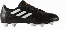ADIDAS BB5828 Soccer CONQUISTO II FIRM GROUND CLEATS Black/White/Solar R... - $99.97