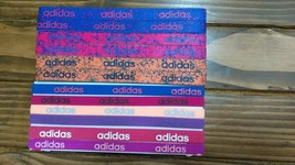 New Unisex Adidas Running 12 Piece Set HEADBANDS Adidas Logo All Sport #11 - $40.00