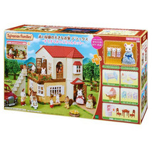 EPOCH Sylvanian Families Big house with red roof Deluxe 19-RI1 triplets set 2019 - $263.32