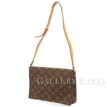 LOUIS VUITTON Musette Tango Monogram Canvas Shoulder Bag M51257 France A... - $604.75