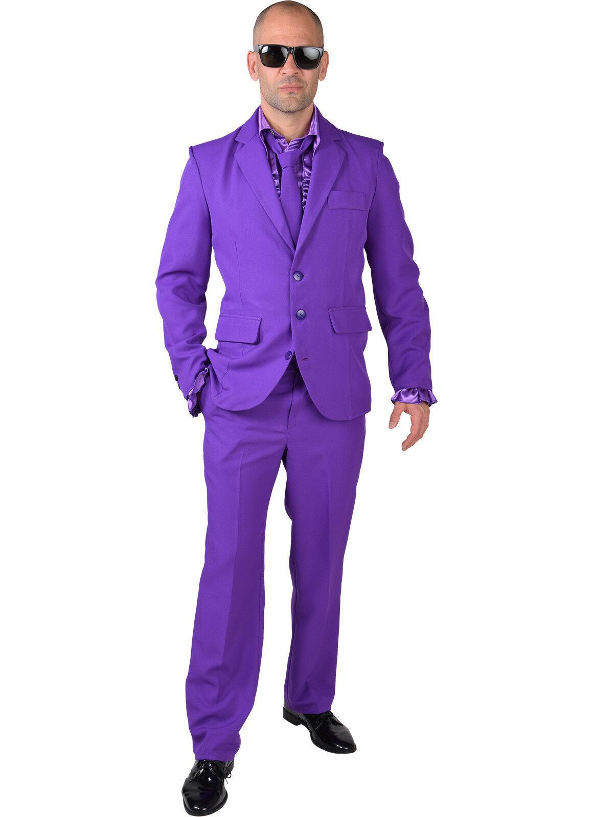 Mr Purple - Suit + Tie