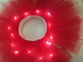WOMEN MINI TUTU Skirt with Lights High Waisted Many Color Mini Petticoat Costume image 6
