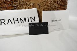NWT Brahmin Noelle Leather Tote / Shoulder Bag in Toasted Almond Melbourne image 6