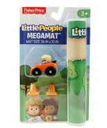 Little People Megamat Play Mat with Vehicle and Traffic Cones New - $11.02