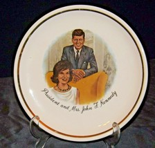 President and Mrs. John F. Kennedy AA20-CP2314 Vintage Commemorative Plate