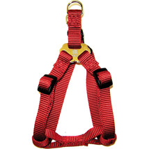 Hamilton Red Adjustable Easy On Dog Harness 5/8 X 12-20 In 013227541607 - $25.24
