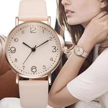 Fashion Women Watches Luxury Leather Band Analog Quartz Watch Casual Lad... - $13.80+