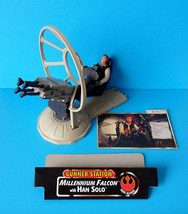 """Star Wars E4 A New Hope 3 3/4"""" Han Solo w/GUNNER Station Hasbro 100% Complete - $6.99"""