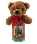 """Canned Critter Stuffed Grizzly Bear 6"""" Tall Cute Plush New Sealed Free S... - $13.85"""