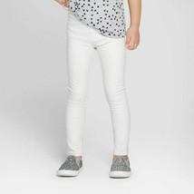 Cat & Jack Toddler Girls Ivory Glitter Leggings Size 12M NWT - $4.19