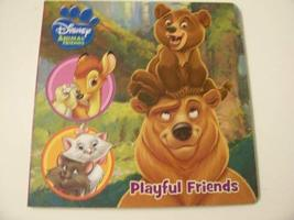 "Disney Animals Educational Board Books ~ Playful Friends (7"" x 7"") - $9.80"