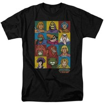 Masters of the Universe animated series characters graphic tee He-man DRM225 image 1