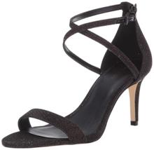 Michael Michael Kors Ava Mid Sandals Black/Bronze Size 8 - $74.24