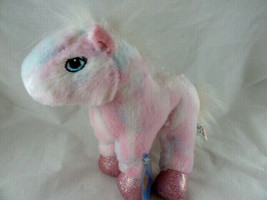 "Webkinz Pink Pony HM117 Soft Plush Animal With Code From Ganz Horse 8"" tall - $10.88"