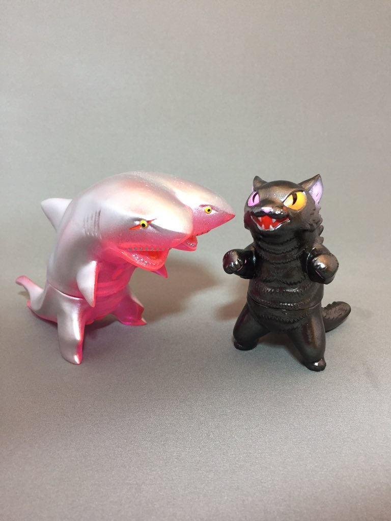 Max Toy x Sunguts Negora and 2-Headed Shark Set