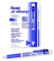Pentel e-sharp Automatic Pencil, 0.5mm, Violet Accents, Box of 12 AZ125V - $17.82
