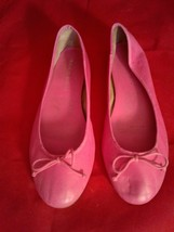 Franco Sarto Pink Bow Ballet Flats Size 9.5 M - $24.75