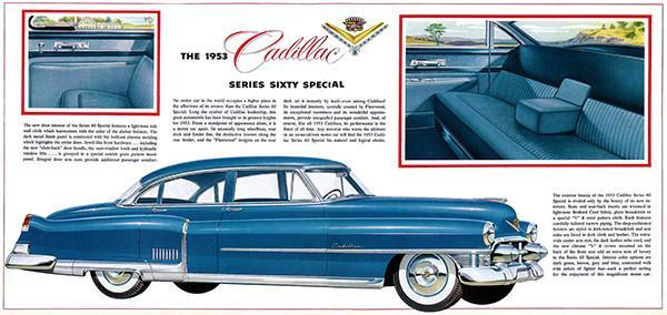 Primary image for 1953 Cadillac Series Sixty Special - Promotional Advertising Poster