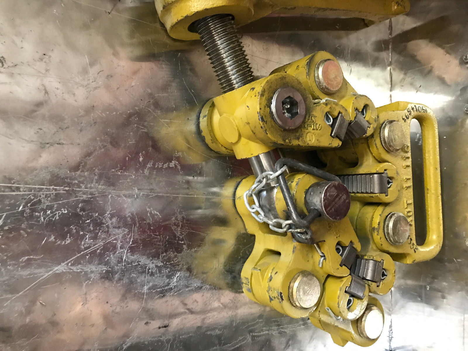 """AOT TYPE """"C"""" SAFETY CLAMP Oil Tools Rig Tools image 4"""