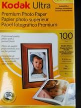 """Kodak  4"""" X 6"""" Ultra Premium Photo Paper Studio Gloss (100 Sheets)  Sealed - $15.83"""