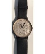 Swiss ISRAEL 1948 Specific Watch Horoscope graphics Gen. M. Dayan Jewish... - $924.99