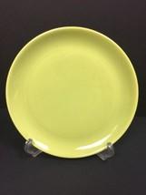 """Vintage Chartreuse Green 10"""" Dinner Plate 3 Stilt Marks HLC Fiestaware Color? - $6.49"""