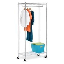Honey-Can-Do GAR-01120 Heavy Duty Rolling Garment Rack - $42.06